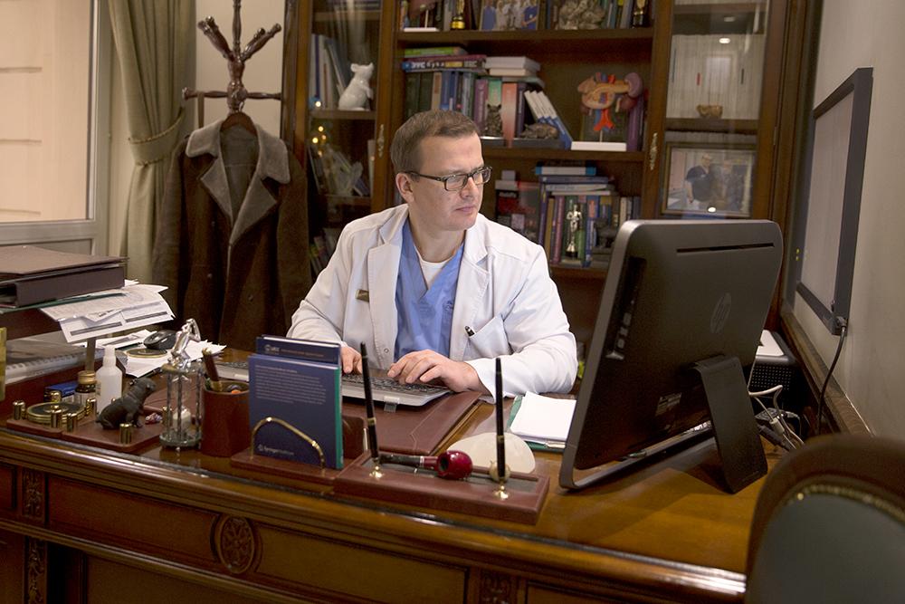 Доктор скоро освободится