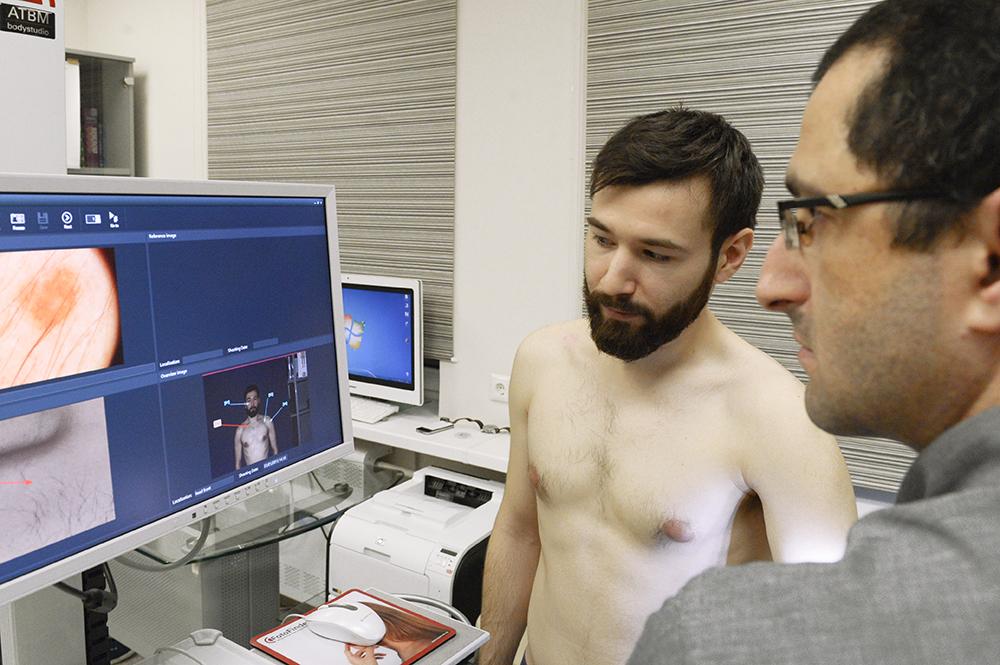 Пациент и показания фотофайндера