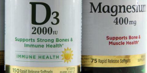 Витамин D и магний против рака