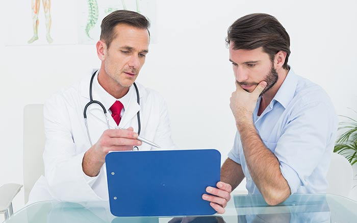 Первые признаки рака головного мозга у мужчин