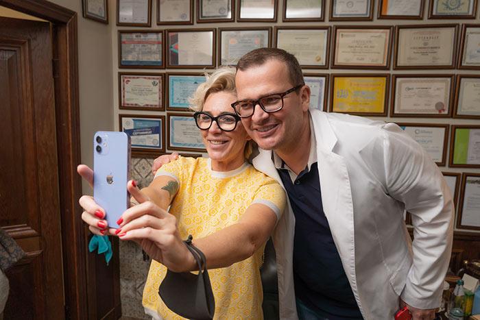 Маргарита Митрофанова и Андрей Пылев