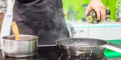 Повторное использование масла для жарки и рак
