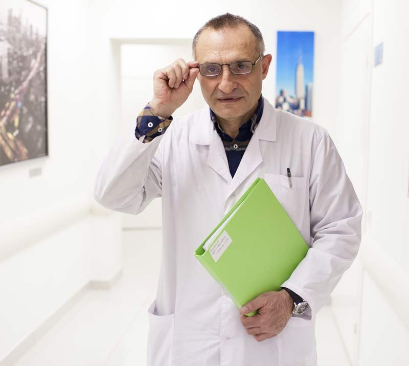 Аветис Агванович Нерсесян - врач уролог, д.м.н.